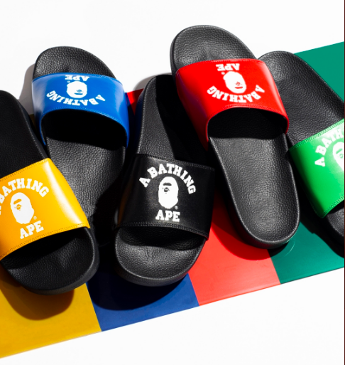 BAPE Reveals Olympic Themed Sandals For Its Summer Season