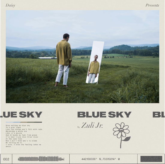 "Zuli Jr.  Releases New Single ""Blue Sky"""
